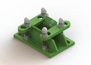 Support fixation facile pour broyeur à sarment Vit'Europ BSR600