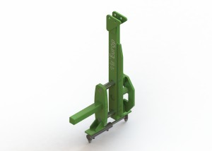 Porte outil élargisseur de voie +/- 100MM