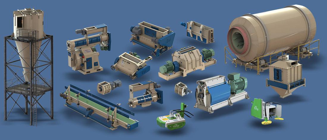 Gamme de produits Europ Service Industrie